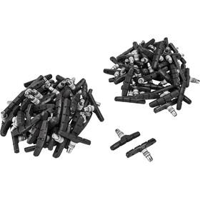 Shimano M70T3 Brake Pads For aluminium rims 50 pairs grey/black
